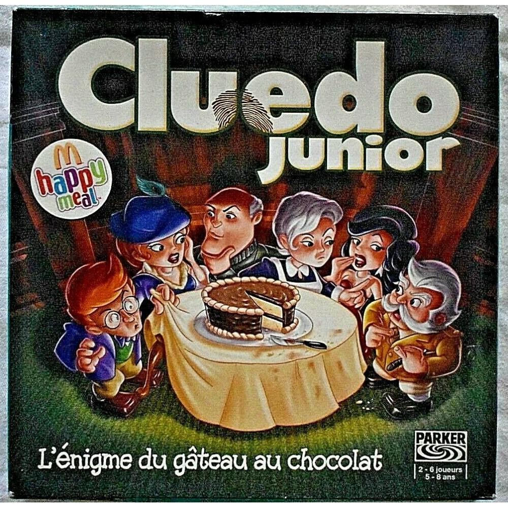 acheter Cluedo Junior - L'énigme du gâteau au chocolat - Mac Donald/Hasbro - 2006