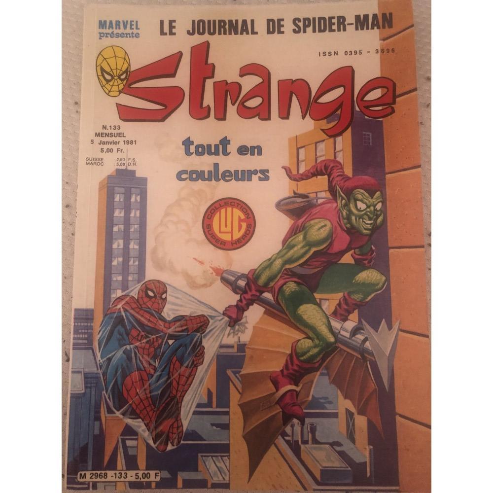 acheter STRANGE tout en couleurs N.133 5 janvier 1981