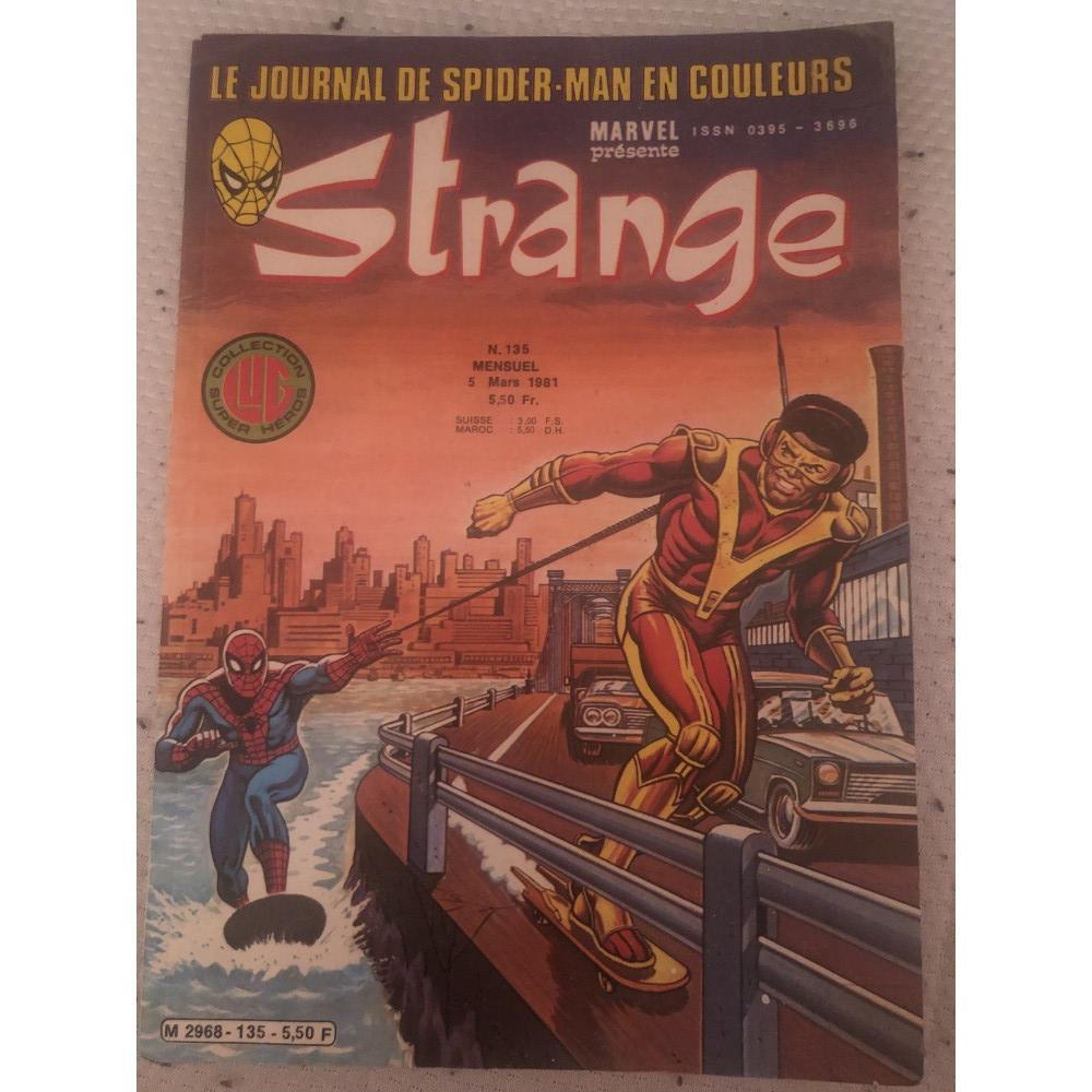 acheter STRANGE N.135    5 mars 1981 le journal de Spiderman
