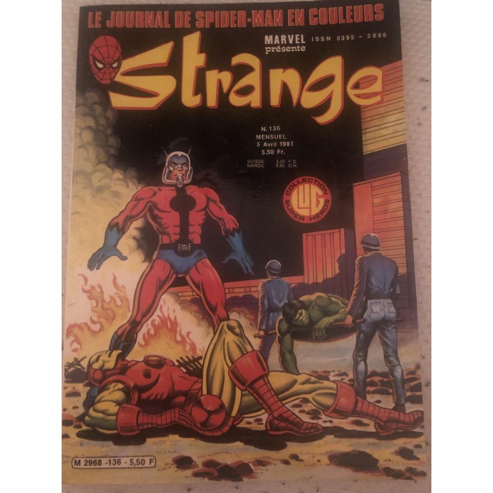 acheter STRANGE N.136.  5 mars 1981 le journal de Spiderman