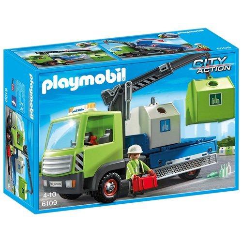 acheter Camion avec Grue et conteneurs Verre - 6109