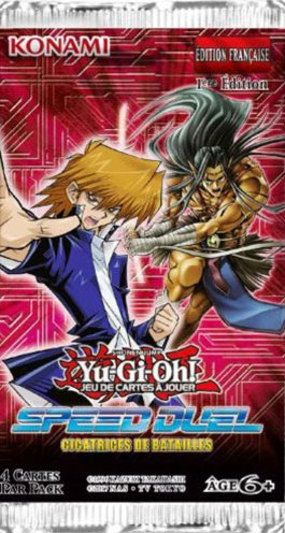 acheter Yu-Gi-Oh! Booster Speed Duel : Cicatrices de Batailles