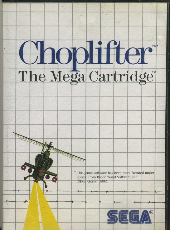 acheter Choplifter - The Mega Cartridge