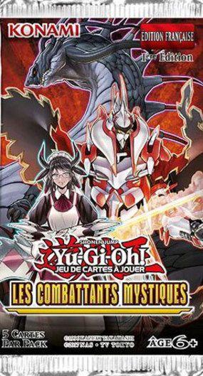 acheter Yu-Gi-Oh! Booster Les Combattants Mystiques
