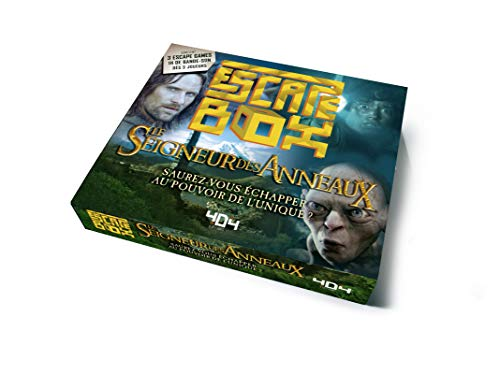 acheter Escape Box -  Le Seigneur des anneaux