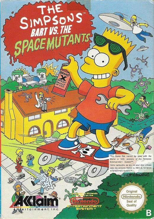 acheter The Simpsons : Bart vs. the space mutants