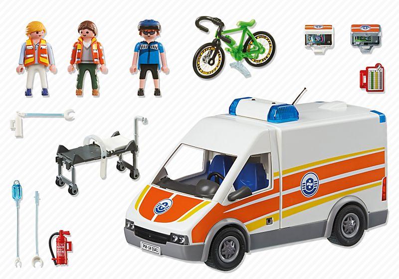 acheter Ambulance avec Secouristes - 5541