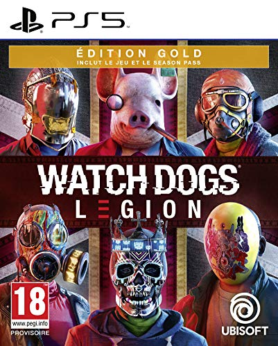 acheter Watch Dogs Legion Édition Gold (PS5)