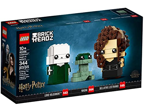acheter LEGO BrickHeadz – Voldemor, Nagini & Bellatrix  - 40496