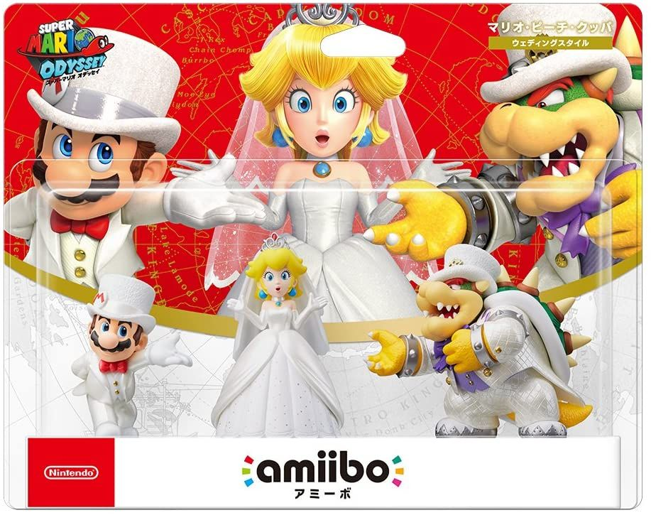 acheter Triple Pack Wedding Outfit (Mario / Peach / Kupa)