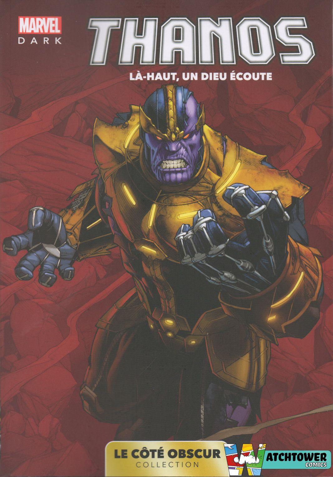 acheter Marvel Dark: Le Cote Obscur T08 - Thanos