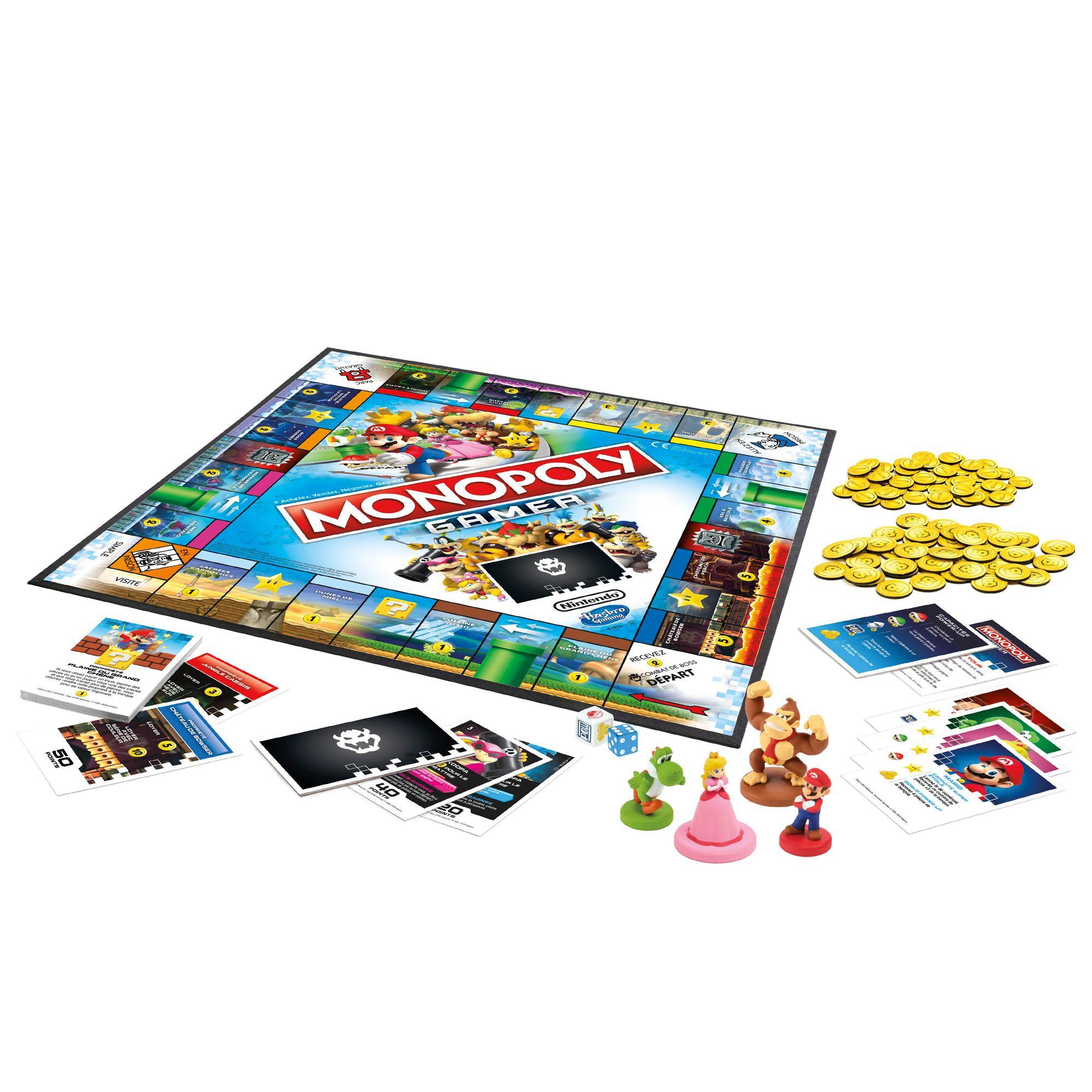 acheter Monopoly Gamer - Mario, Princesse Peach, Yoshi & Donkey Kong