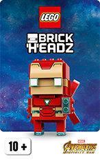 license BrickHeadz chez Lego