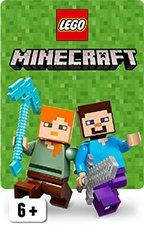license Minecraft chez Lego
